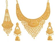pin gold necklace dubai at big weightless souk youtube designs