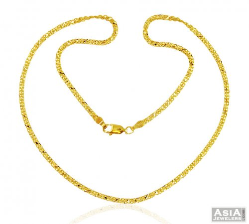 indian and south chains heavy simple gold jewellery articles designs