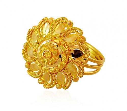 Indian Filigree Ring (22K)