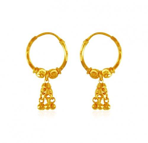 22 Karat Gold Hoop Earrings Ajer63672 Us 308 22 Karat Gold