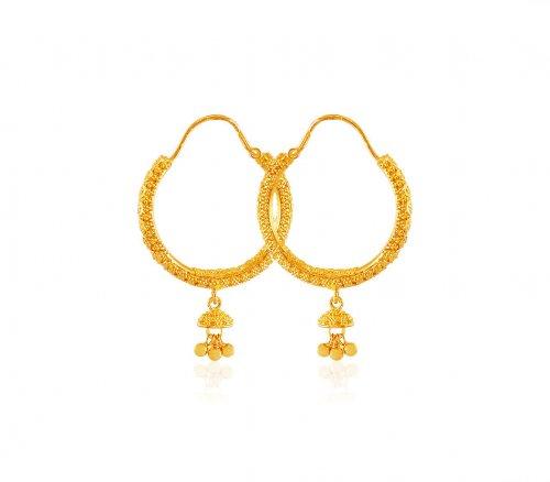 22k Gold Baali Earrings