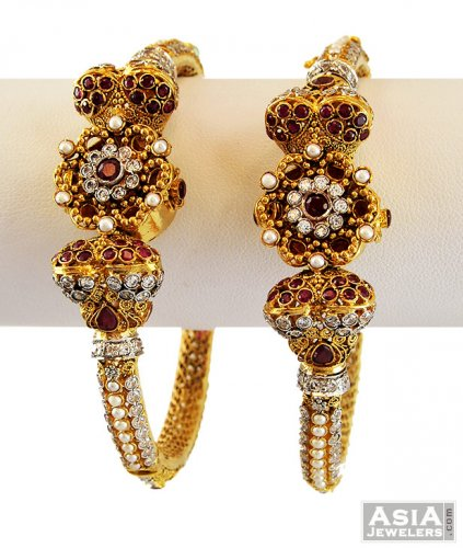 Ruby Pakistani Antique Kada 1 Pc only asba US$ 1 681