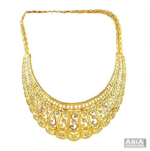 21K Gold Necklace AjNs 21k Magnificient gold necklace