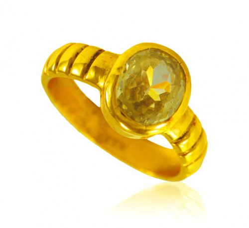 7994d30b7e0f1 22 Karat Gold Yellow Sapphire Ring - AsRi65385 - US$ 2,261 - 22 Kt ...
