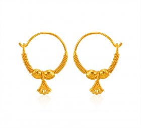 22K Gold Hoops A collection 22K Gold Hoops Earrings also