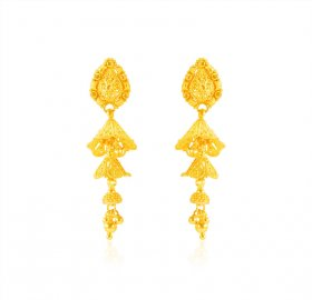 product jewelry new earring gift earrings store indian real fashion gold dangle plated drop item women style