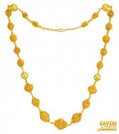 22k Gold Necklace Earring Sets 22k Gold Necklace Sets In Range