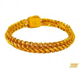 c787057ebf5b0 22K Men's Bracelets - 22K Men's bracelets in filigree, 2 tone ...